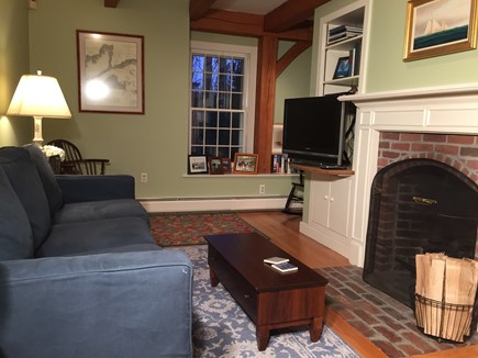 Vineyard Haven Martha's Vineyard vacation rental - Curl up with a movie, book, or game in the den.