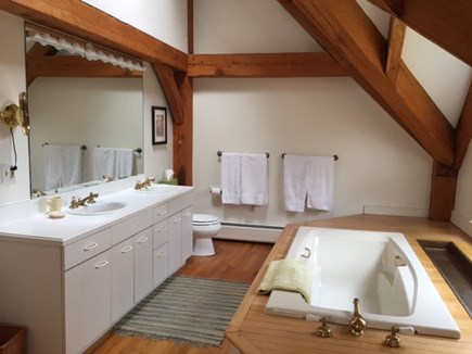Vineyard Haven Martha's Vineyard vacation rental - A spacious master bath with separate dressing room.