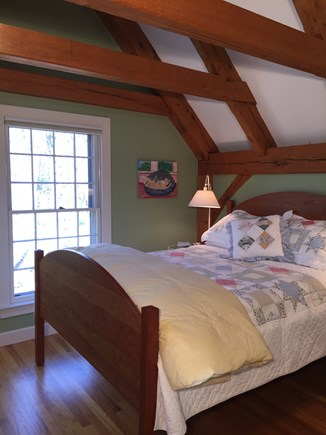 Vineyard Haven Martha's Vineyard vacation rental - Third-floor bedroom, with AC, sitting area, and office.