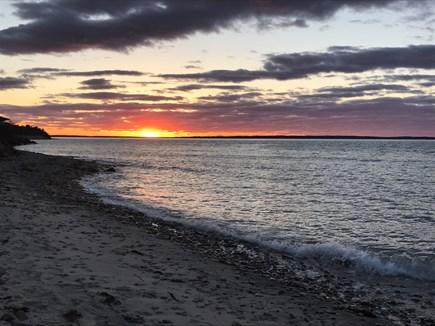 Vineyard Haven Martha's Vineyard vacation rental - Sunset at Pilot Hill Farm.