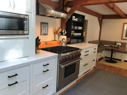 Vineyard Haven Martha's Vineyard vacation rental - The new cook's kitchen . . .