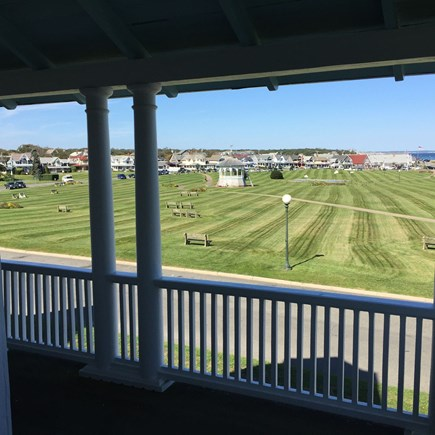 Oak Bluffs Martha's Vineyard vacation rental - Upper porch view overlooking Ocean Park