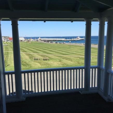 Oak Bluffs Martha's Vineyard vacation rental - Upper porch view looking towards Nantucket Sound