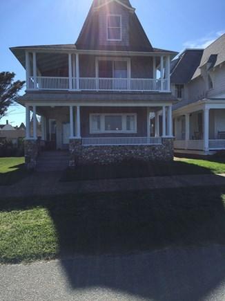 Oak Bluffs Martha's Vineyard vacation rental - Front of house facing Ocean Park and Nantucket Sound