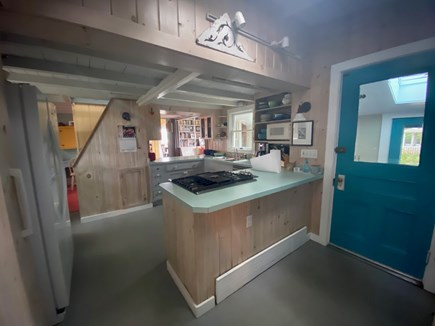 Oak Bluffs Martha's Vineyard vacation rental - Kitchen w/pantry, new gas range/appliances/lots of counter space