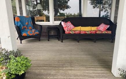 Oak Bluffs Martha's Vineyard vacation rental - Relaxing porch....
