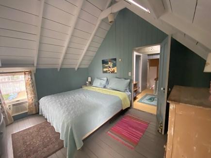 Oak Bluffs Martha's Vineyard vacation rental - Master overlooks Farm Pond and Nantucket Sound.