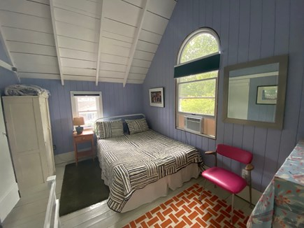 Oak Bluffs Martha's Vineyard vacation rental - Queen bedroom has its own staircase to the first floor, pondviews
