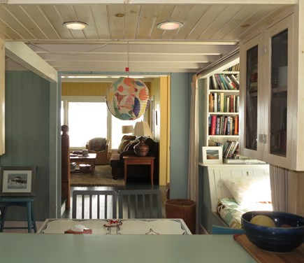 Oak Bluffs Martha's Vineyard vacation rental - Looking from kitchen (all new appliances) to dining and living.