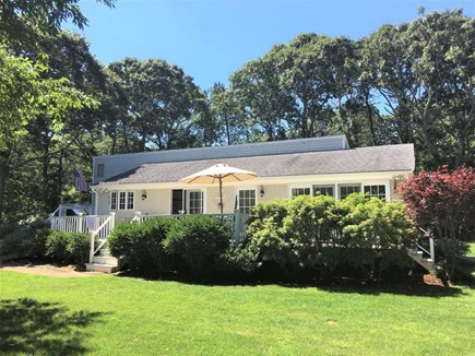 Edgartown Martha's Vineyard vacation rental - Contemporary style home with lush lawn & professional landscaping