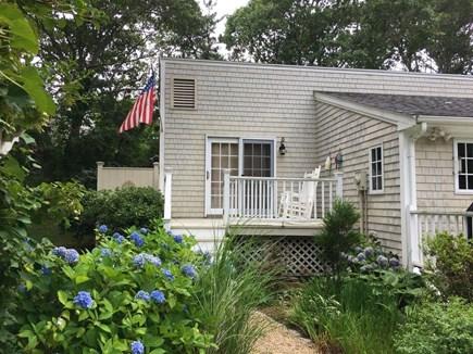 Edgartown Martha's Vineyard vacation rental - Private deck off master bedroom