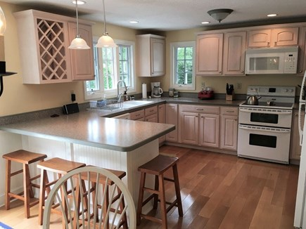 Edgartown Martha's Vineyard vacation rental - Large, sparkling, fully-stocked kitchen with seating for 4