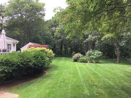 Edgartown Martha's Vineyard vacation rental - Expansive yard with plenty of space to play and entertain