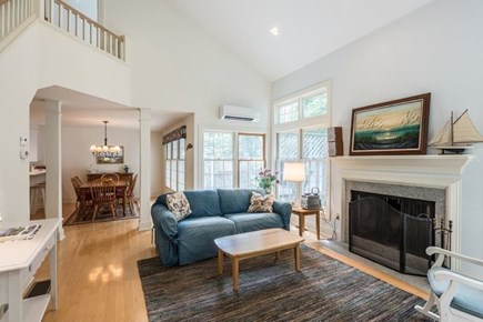 Vineyard Haven Martha's Vineyard vacation rental - The spacious and bright living room is ideal for gathering.
