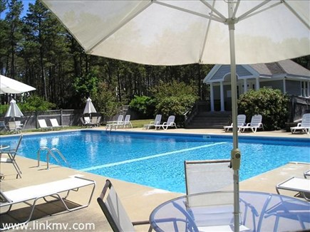 Vineyard Haven Martha's Vineyard vacation rental - Lounge by the gorgeous blue pool.