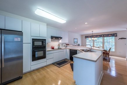 Vineyard Haven Martha's Vineyard vacation rental - The open concept extends into the kitchen for a fun time cooking.