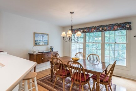 Vineyard Haven Martha's Vineyard vacation rental - The cozy dining area lets ample light come in from outdoors.