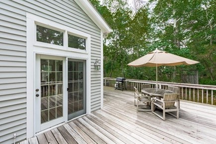 Vineyard Haven Martha's Vineyard vacation rental - It's easy to get to the kitchen from your outdoor dining.
