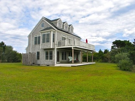 Katama - Edgartown, Edgartown Martha's Vineyard vacation rental - Large yard with water views