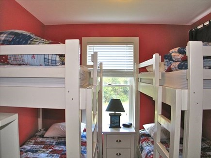 Katama - Edgartown, Edgartown Martha's Vineyard vacation rental - Bedroom with 2 twin bunks