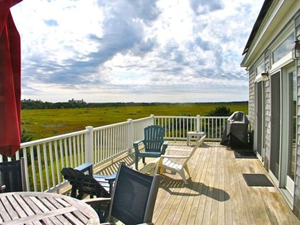 Katama - Edgartown, Edgartown Martha's Vineyard vacation rental - Large Sunny Deck
