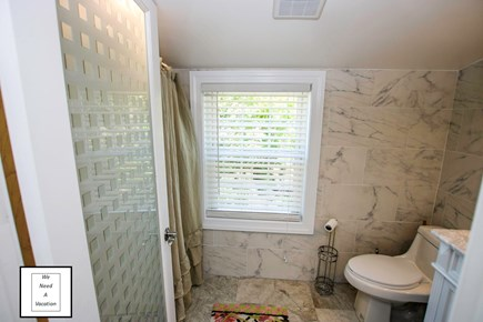 32 County Road, Oak Bluffs Martha's Vineyard vacation rental - Upstairs bathroom with shower