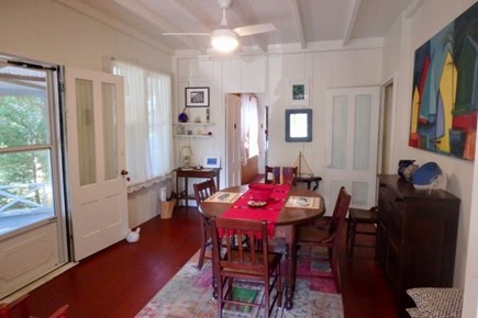 Oak Bluffs Martha's Vineyard vacation rental - Sunny dining area sits centrally located in this quaint home.