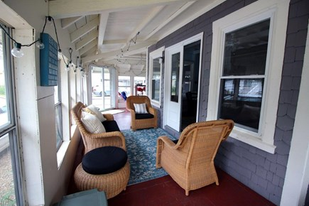 Oak Bluffs Martha's Vineyard vacation rental - Indoor wrap around porch