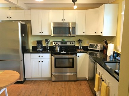 Oak Bluffs Martha's Vineyard vacation rental - FULLY equipped kitchen with new appliances and breakfast bar