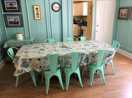 Oak Bluffs Martha's Vineyard vacation rental - Open dining room with seating for at least 8.
