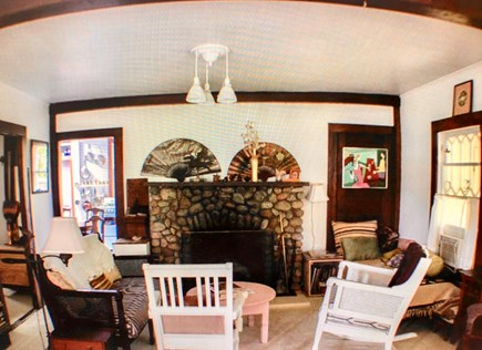 Oak Bluffs Martha's Vineyard vacation rental - Gather around the fireplace to tell stories after a day in town.