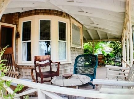 Oak Bluffs Martha's Vineyard vacation rental - Gorgeous wraparound porch with plenty of room to mingle