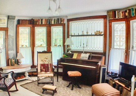 Oak Bluffs Martha's Vineyard vacation rental - The living room offers a feeling of warmth and welcome.