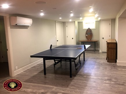 Katama - Edgartown Martha's Vineyard vacation rental - Basement Area Includes Ping Pong Table