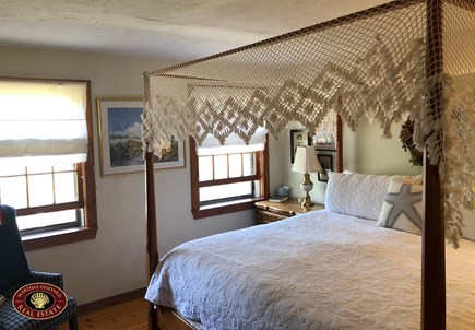 Edgartown Martha's Vineyard vacation rental - Upstairs Bedroom with Queen Bed