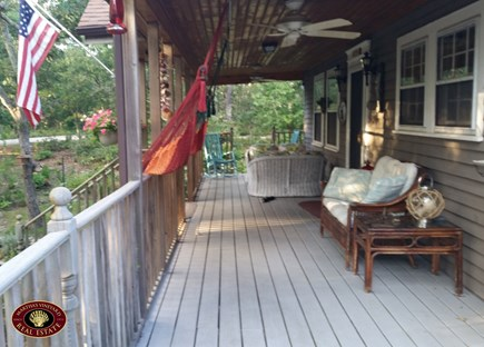 Edgartown Martha's Vineyard vacation rental - Front Porch
