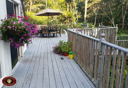Edgartown Martha's Vineyard vacation rental - Wrap around deck