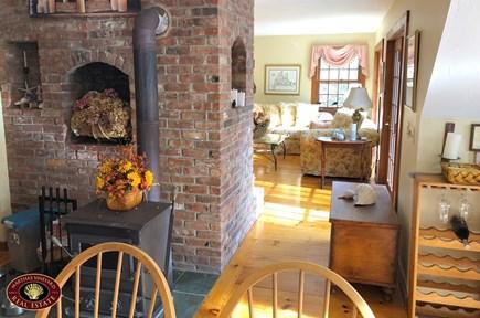 Edgartown Martha's Vineyard vacation rental - Kitchen Fireplace