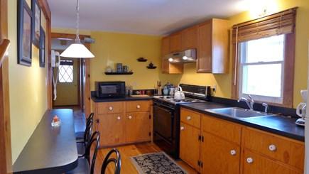 Oak Bluffs Martha's Vineyard vacation rental - Efficient Kitchen with sandwich bar...  New Kitchen being done !
