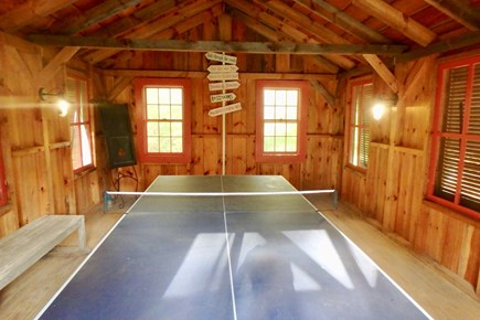 West Tisbury Martha's Vineyard vacation rental - Late night ping pong, anyone?