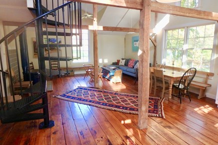 West Tisbury Martha's Vineyard vacation rental - Enjoy the post and beam charm