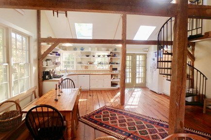West Tisbury Martha's Vineyard vacation rental - Open concept kitchen offers all the amenities