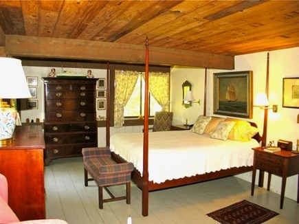 Chilmark Martha's Vineyard vacation rental - The Master bedroom is cozy and spacious.