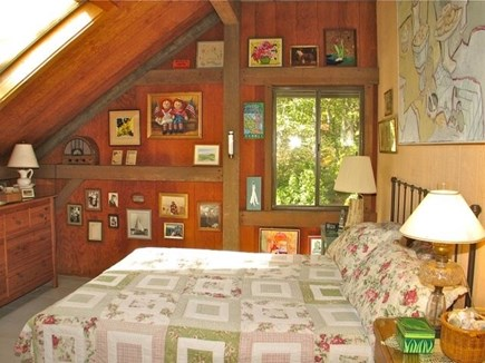 Chilmark Martha's Vineyard vacation rental - Feel the tranquility in this wooded paradise.