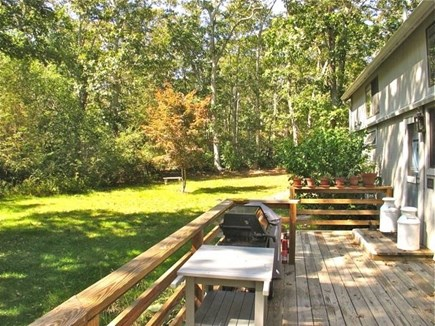 Chilmark Martha's Vineyard vacation rental - Come outside for some grilling.