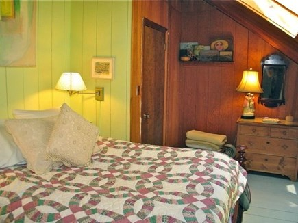 Chilmark Martha's Vineyard vacation rental - Lovers den with skylight to view the stars.