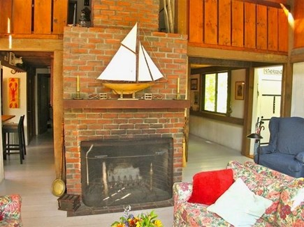 Chilmark Martha's Vineyard vacation rental - Gather round the hearth to tell your stories.
