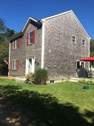 Oak Bluffs Martha's Vineyard vacation rental - Side of Home with Deck