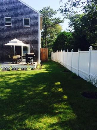 Oak Bluffs Martha's Vineyard vacation rental - Spacious Yard with Outdoor Shower