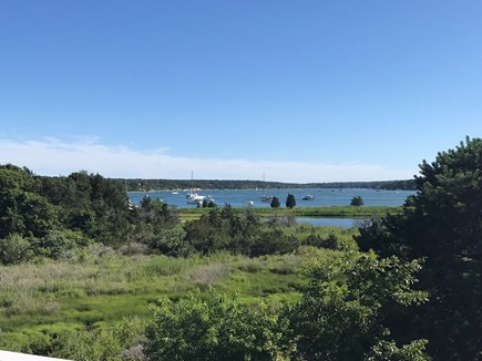 Oak Bluffs Martha's Vineyard vacation rental - Spectacular, serene views of Lagoon from main living area!